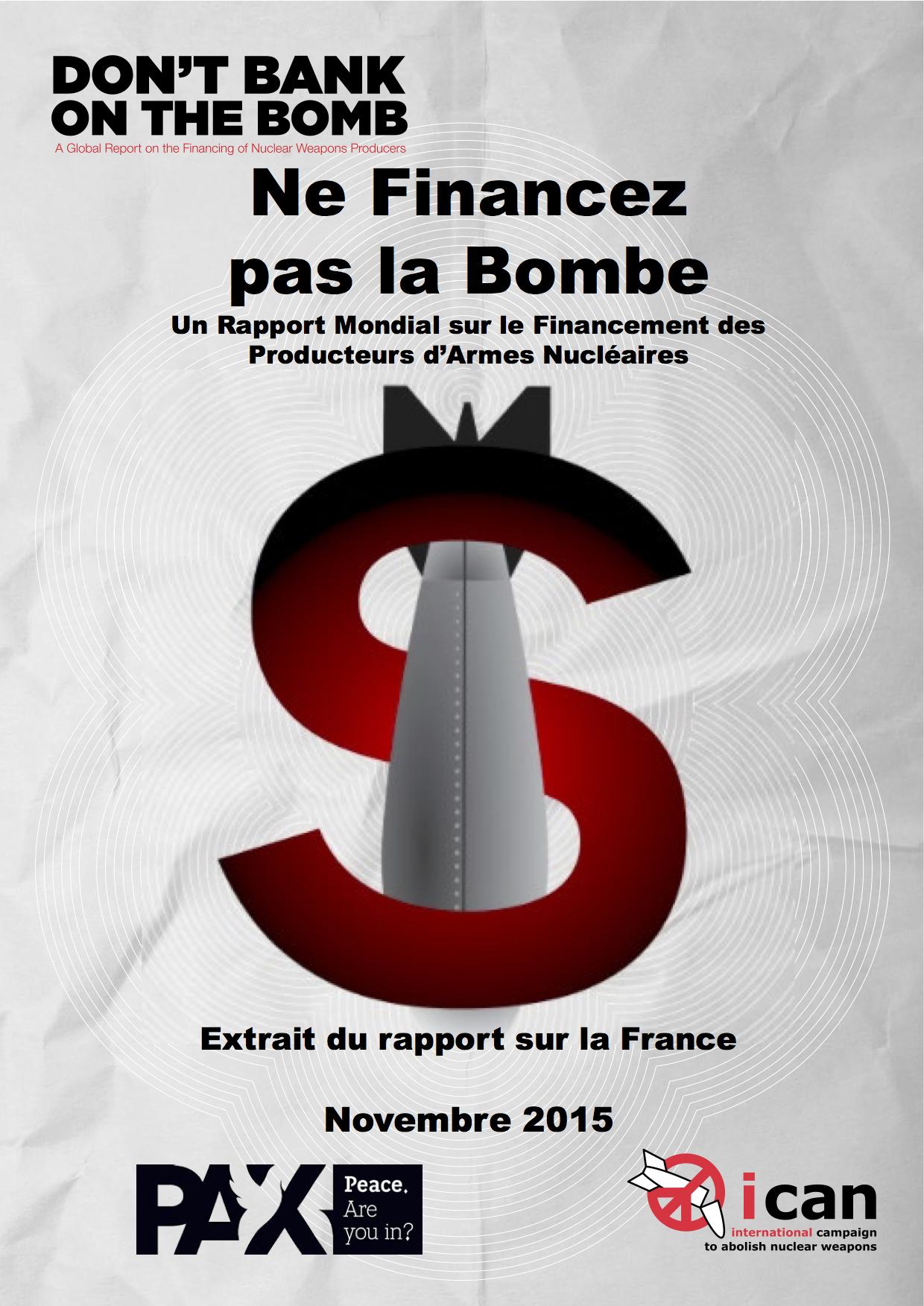 Ne Financez pas la Bombe 2015