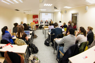 Conférence à l'École d'affaires internationales de Sciences Po Paris (PSIA)